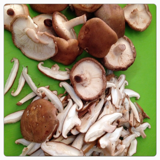 Shiitake Mushrooms © The Queen V Kitchen 2013