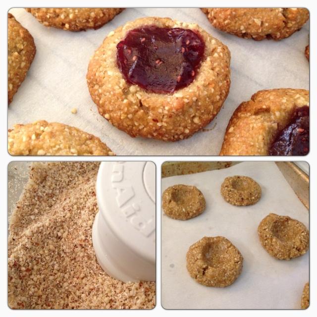 Raspberry Almond Jammers