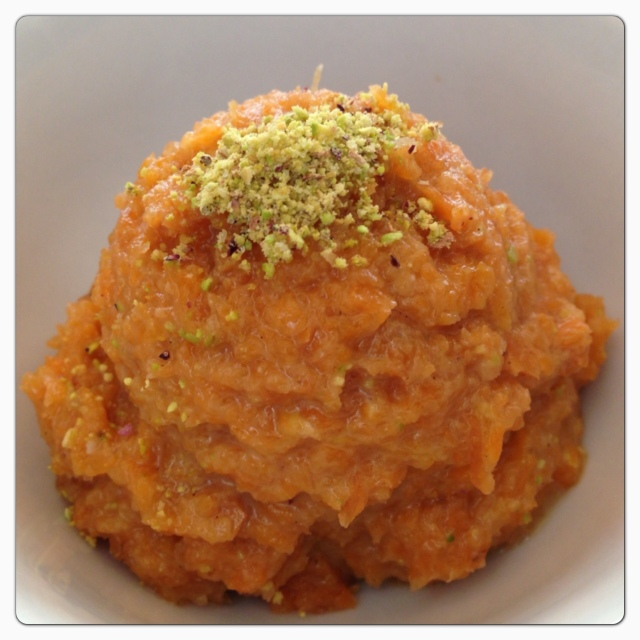 Carrot Halwa © The Queen V Kitchen 2013