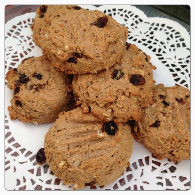 PeanutButter Oatmeal Raisin Cookies